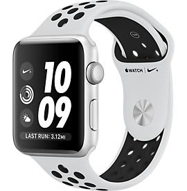 Apple Watch Series 3 42mm, Nike Sport Platina / Zwart , Product leeftijd 4 maanden