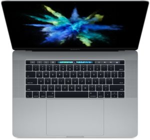 MacBook Pro 15-inch with Thunderbolt 3, 2.7 GHz Intel Quad-Core i7, 16GB, 512GB SSD