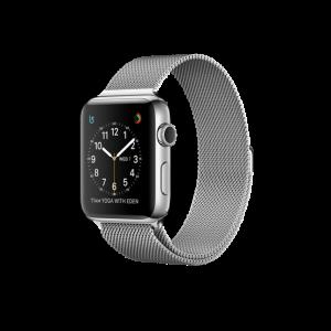Watch Series 2 Steel (42mm), Black