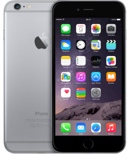 iPhone 6 64GB, 64GB, Gray