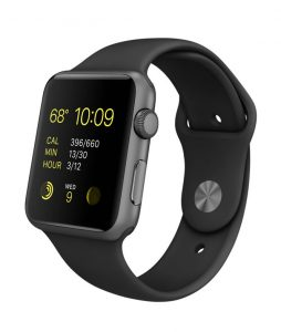 Watch Series 3 (42mm), Sport band - Black