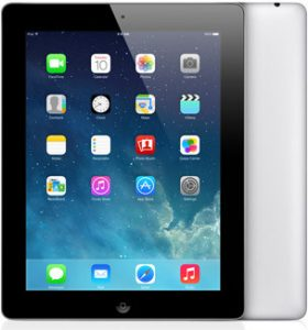 iPad 4 Wi-Fi + Cellular 16GB, 16 GB, Black
