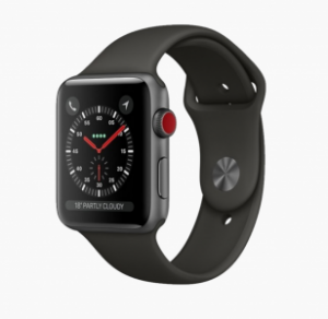 Watch Series 3 (42mm), SPACE GRAY