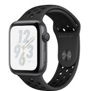 Watch Series 4 (44mm), Black Nike Sport Band