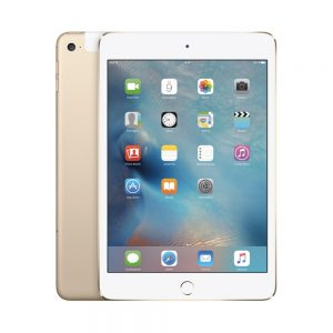 iPad mini 4 Wi-Fi + Cellular 64GB, 64GB, Gold