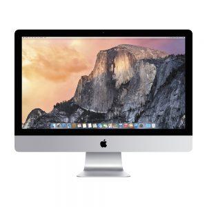 "iMac 27"" Retina 5K Late 2015 (Intel Quad-Core i5 3.3 GHz 16 GB RAM 512 GB SSD), Intel Quad-Core i5 3.3 GHz, 16 GB RAM, 512 GB SSD"