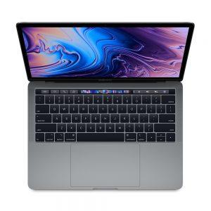 """MacBook Pro 13"""" 4TBT Mid 2019 (Intel Quad-Core i5 2.4 GHz 16 GB RAM 256 GB SSD), Space Gray, Intel Quad-Core i5 2.4 GHz, 16 GB RAM, 256 GB SSD"""