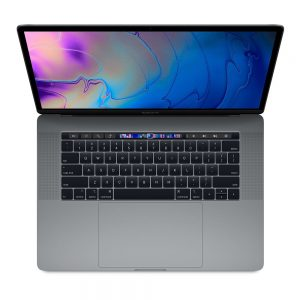 """MacBook Pro 15"""" Touch Bar Mid 2018 (Intel 6-Core i7 2.2 GHz 16 GB RAM 512 GB SSD), Space Gray, Intel 6-Core i7 2.2 GHz, 16 GB RAM, 512 GB SSD"""