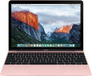 """MacBook 12"""" Mid 2017 (Intel Core m3 1.2 GHz 8 GB RAM 256 GB SSD), Rose Gold, Intel Core m3 1.2 GHz, 8 GB RAM, 256 GB SSD"""