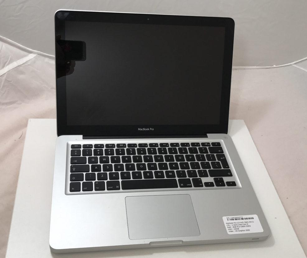 MacBook Pro 13-inch, 2.5GHz Intel Dual-Core i5, 4GB, 500GB HDD, Afbeelding 1