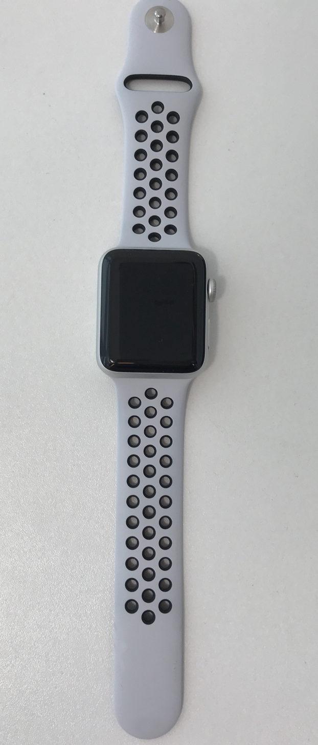 Apple Watch Series 3 42mm, Nike Sport Platina / Zwart , Afbeelding 1
