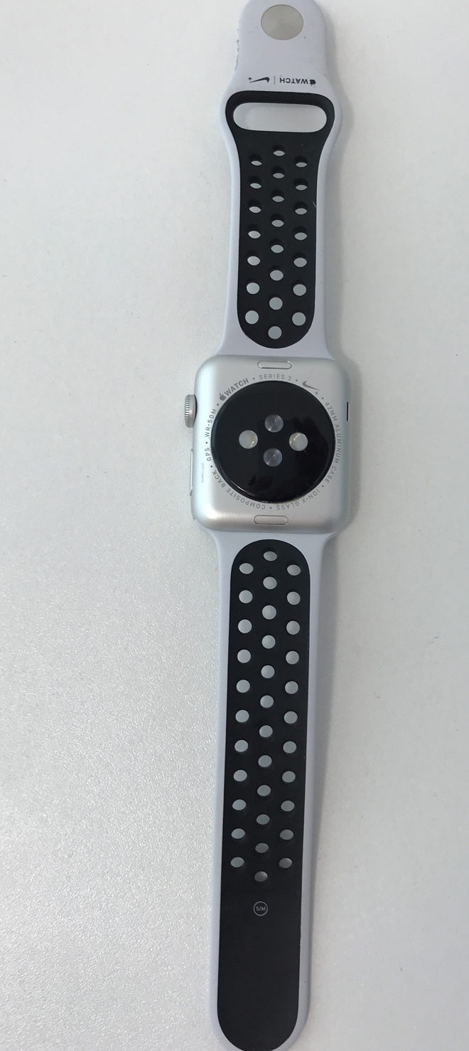 Apple Watch Series 3 42mm, Nike Sport Platina / Zwart , Afbeelding 2