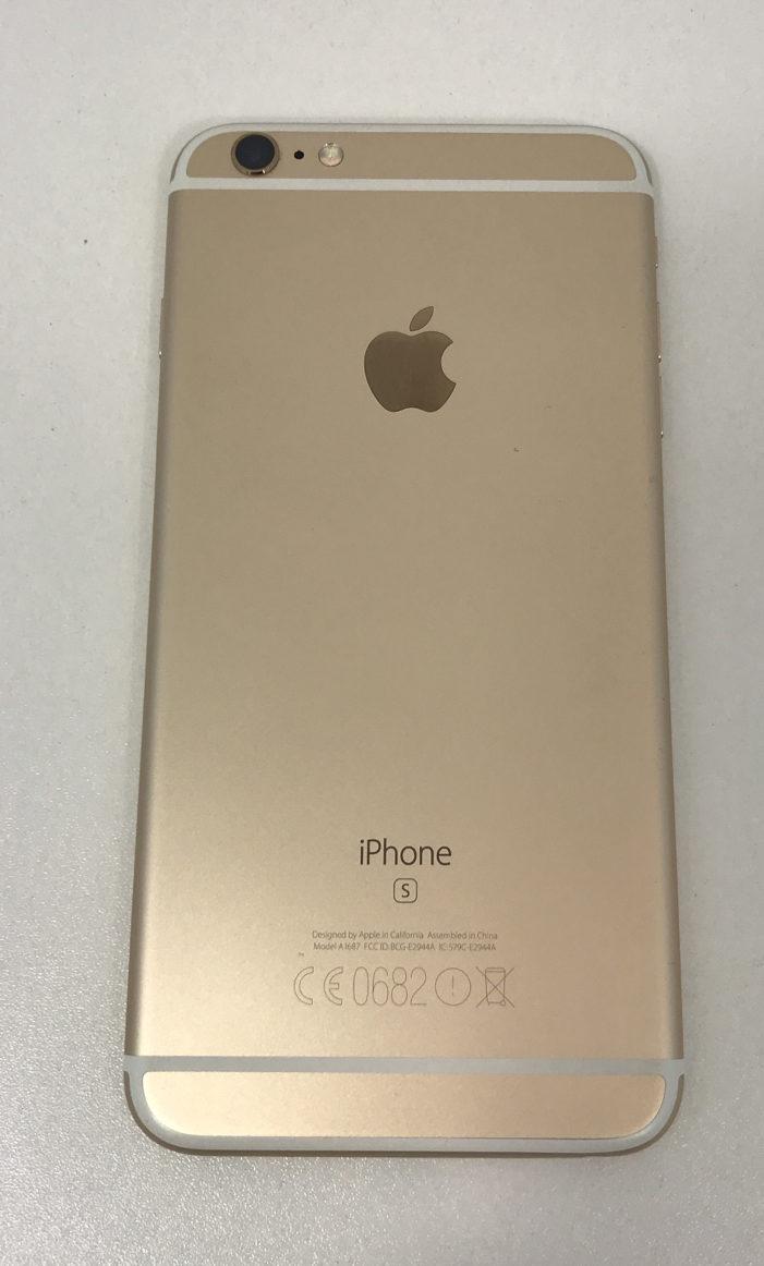 iPhone 6Splus, 64GB, Gold, Afbeelding 3