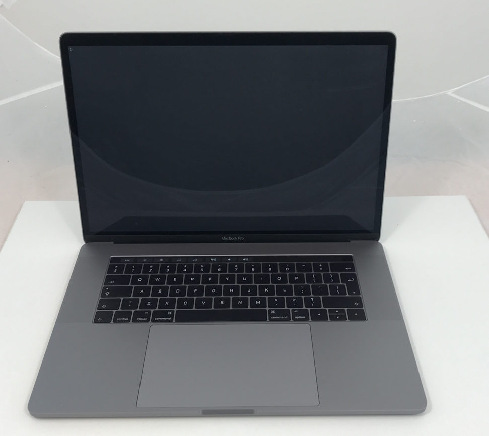 MacBook Pro 15-inch with Thunderbolt 3, 2.7 GHz Intel Quad-Core i7, 16GB, 512GB SSD, Afbeelding 1