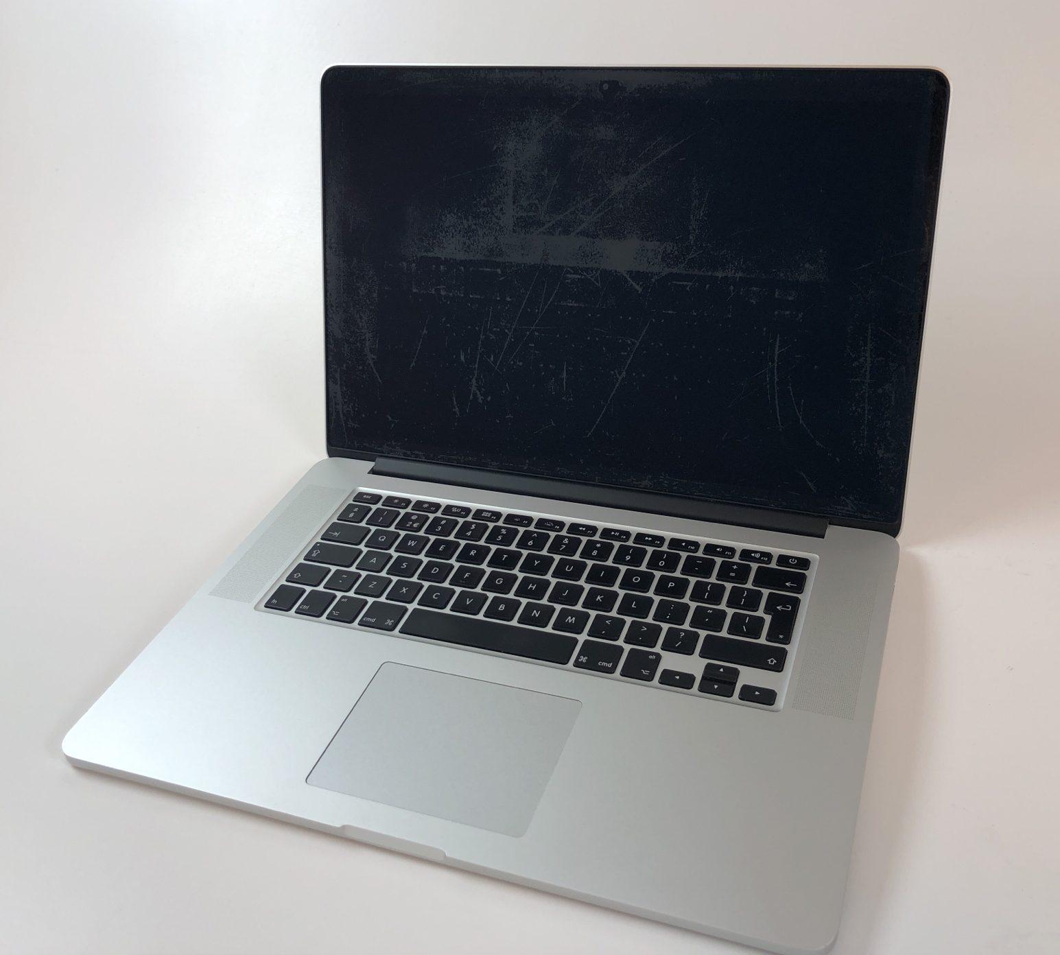 """MacBook Pro Retina 15"""" Mid 2014 (Intel Quad-Core i7 2.2 GHz 16 GB RAM 256 GB SSD), Intel Quad-Core i7 2.2 GHz, 16 GB RAM, 256 GB SSD, Afbeelding 1"""