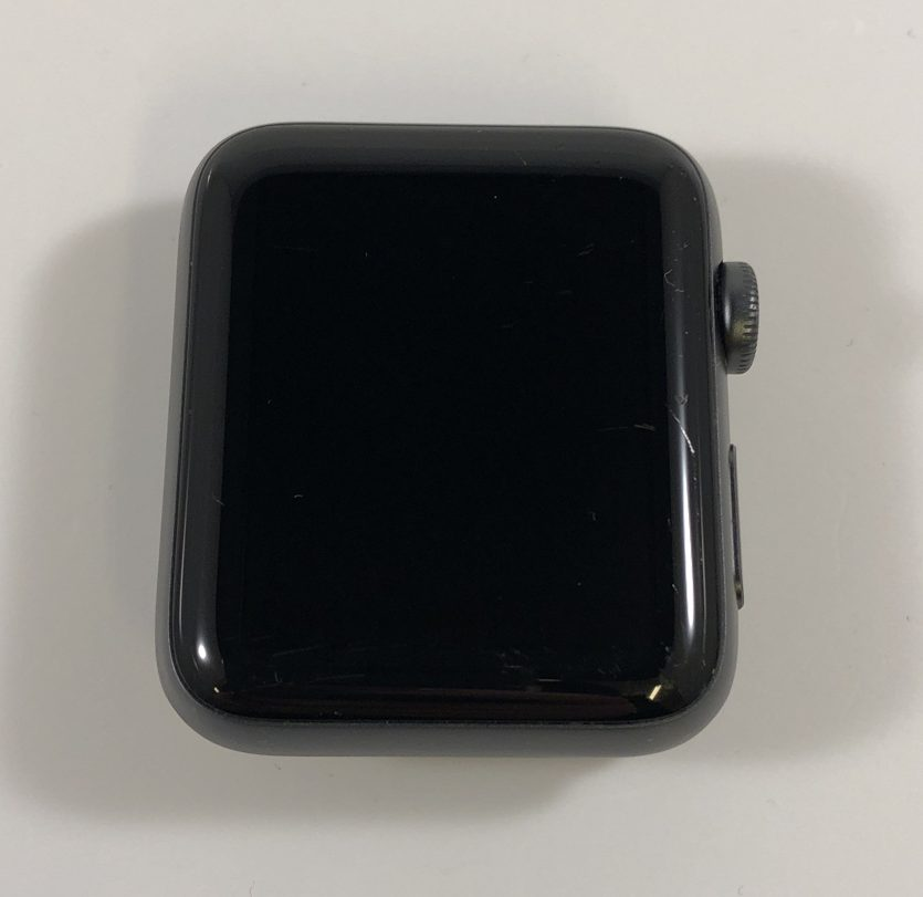 Watch Series 2 Aluminum (42mm), Space Gray, Black Sport Band, Afbeelding 1