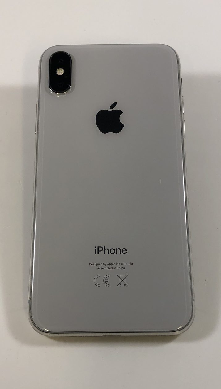 iPhone X 256GB, 256GB, Silver, image 2