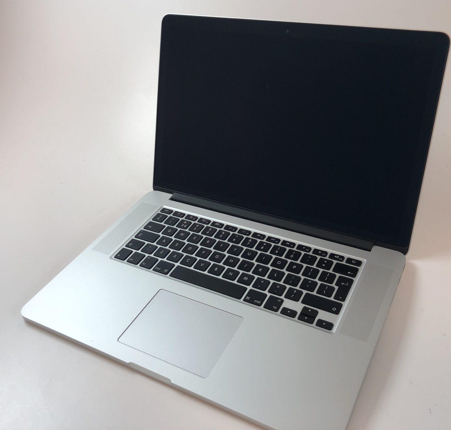 """MacBook Pro Retina 15"""" Mid 2015 (Intel Quad-Core i7 2.2 GHz 16 GB RAM 256 GB SSD), Intel Quad-Core i7 2.2 GHz, 16 GB RAM, 256 GB SSD, Afbeelding 1"""
