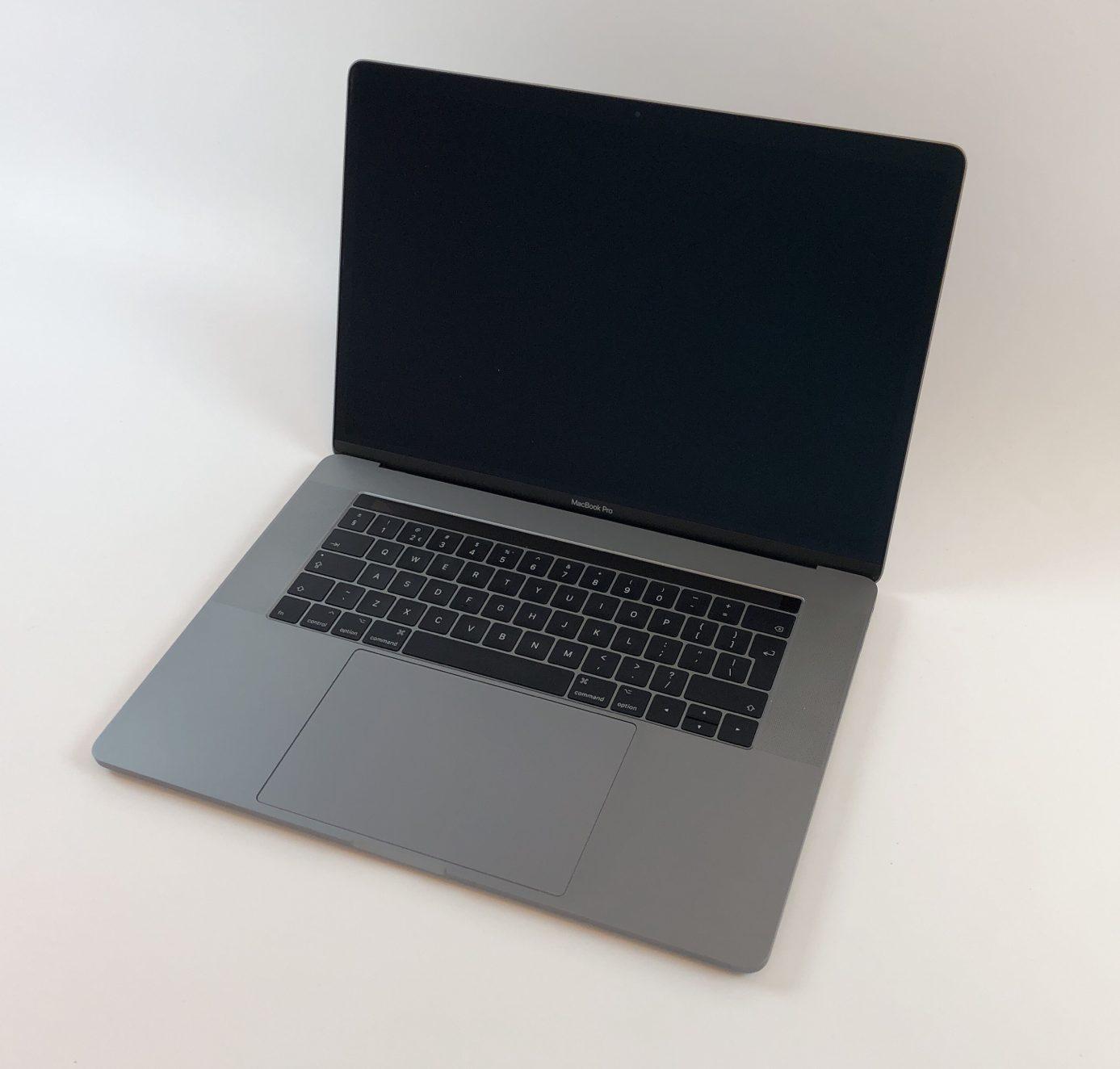"MacBook Pro 15"" Touch Bar Mid 2017 (Intel Quad-Core i7 2.9 GHz 16 GB RAM 512 GB SSD), Space Gray, Intel Quad-Core i7 2.9 GHz, 16 GB RAM, 512 GB SSD, Afbeelding 1"