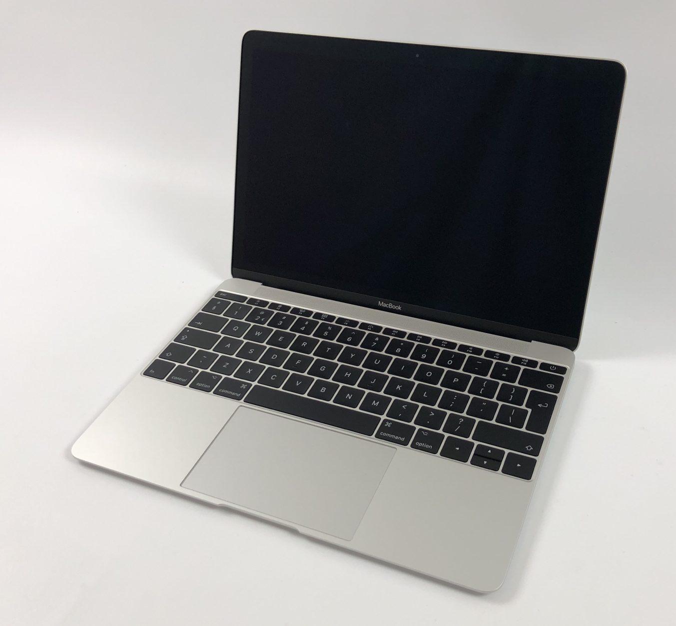 """MacBook 12"""" Mid 2017 (Intel Core i5 1.3 GHz 8 GB RAM 512 GB SSD), Silver, Intel Core i5 1.3 GHz, 8 GB RAM, 512 GB SSD, Afbeelding 1"""