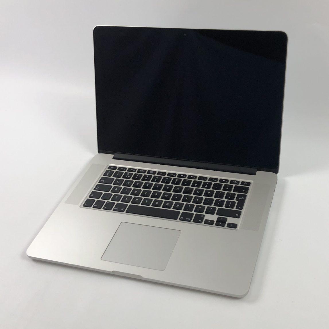 """MacBook Pro Retina 15"""" Mid 2015 (Intel Quad-Core i7 2.8 GHz 16 GB RAM 1 TB SSD), Intel Quad-Core i7 2.8 GHz, 16 GB RAM, 1 TB SSD, Afbeelding 1"""