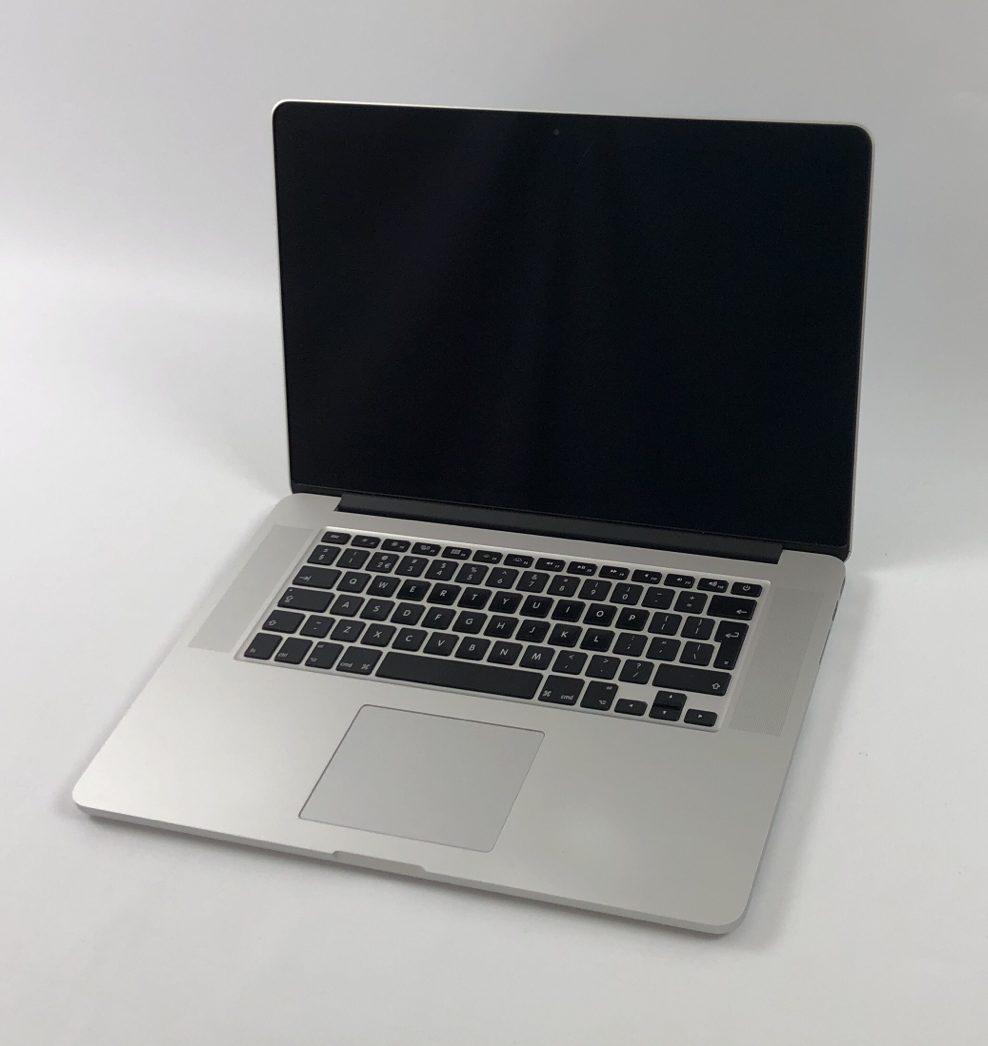 """MacBook Pro Retina 15"""" Mid 2015 (Intel Quad-Core i7 2.8 GHz 16 GB RAM 512 GB SSD), Intel Quad-Core i7 2.8 GHz, 16 GB RAM, 512 GB SSD, Afbeelding 1"""