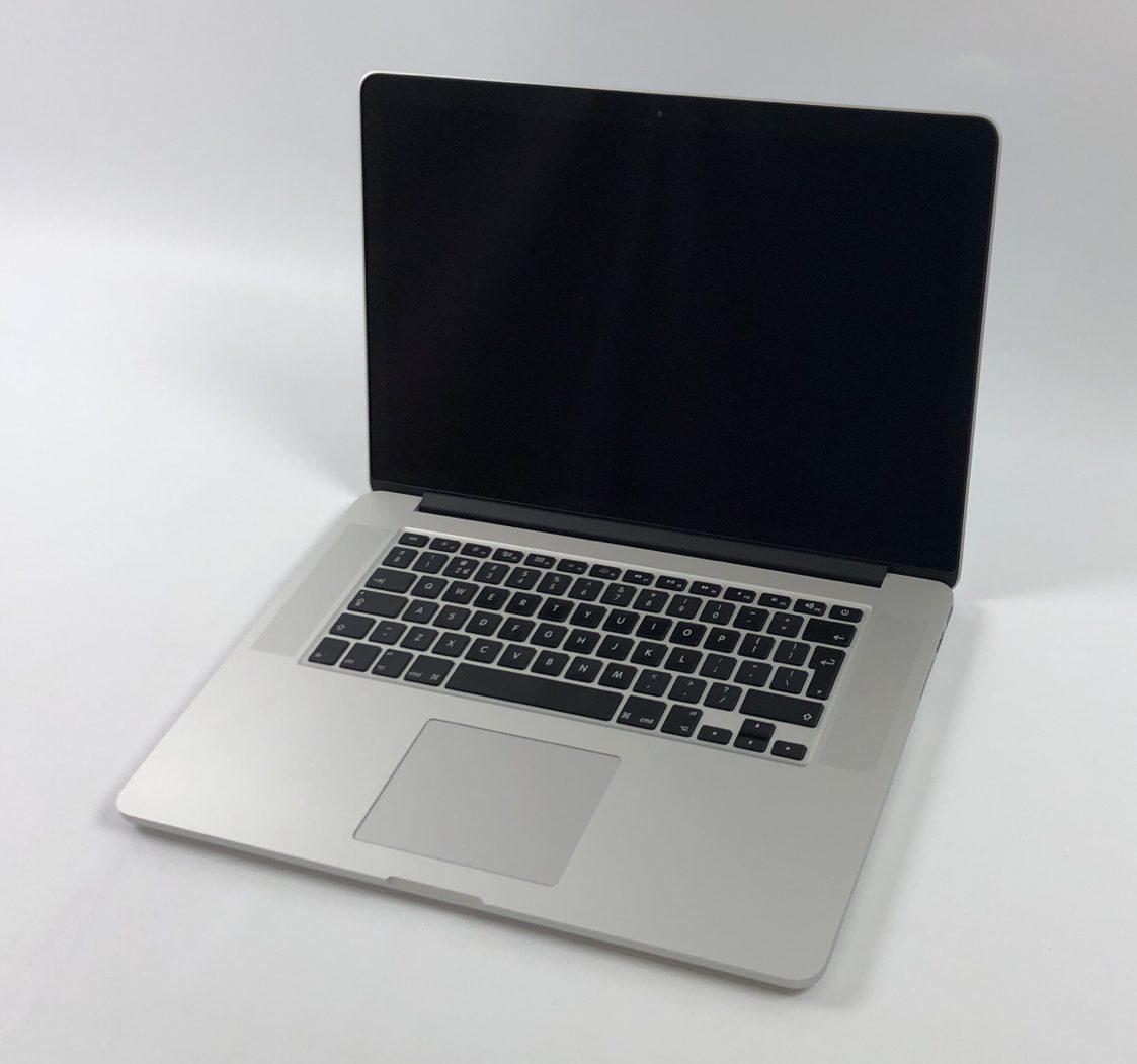 """MacBook Pro Retina 15"""" Mid 2015 (Intel Quad-Core i7 2.5 GHz 16 GB RAM 512 GB SSD), Intel Quad-Core i7 2.5 GHz, 16 GB RAM, 512 GB SSD, Afbeelding 1"""