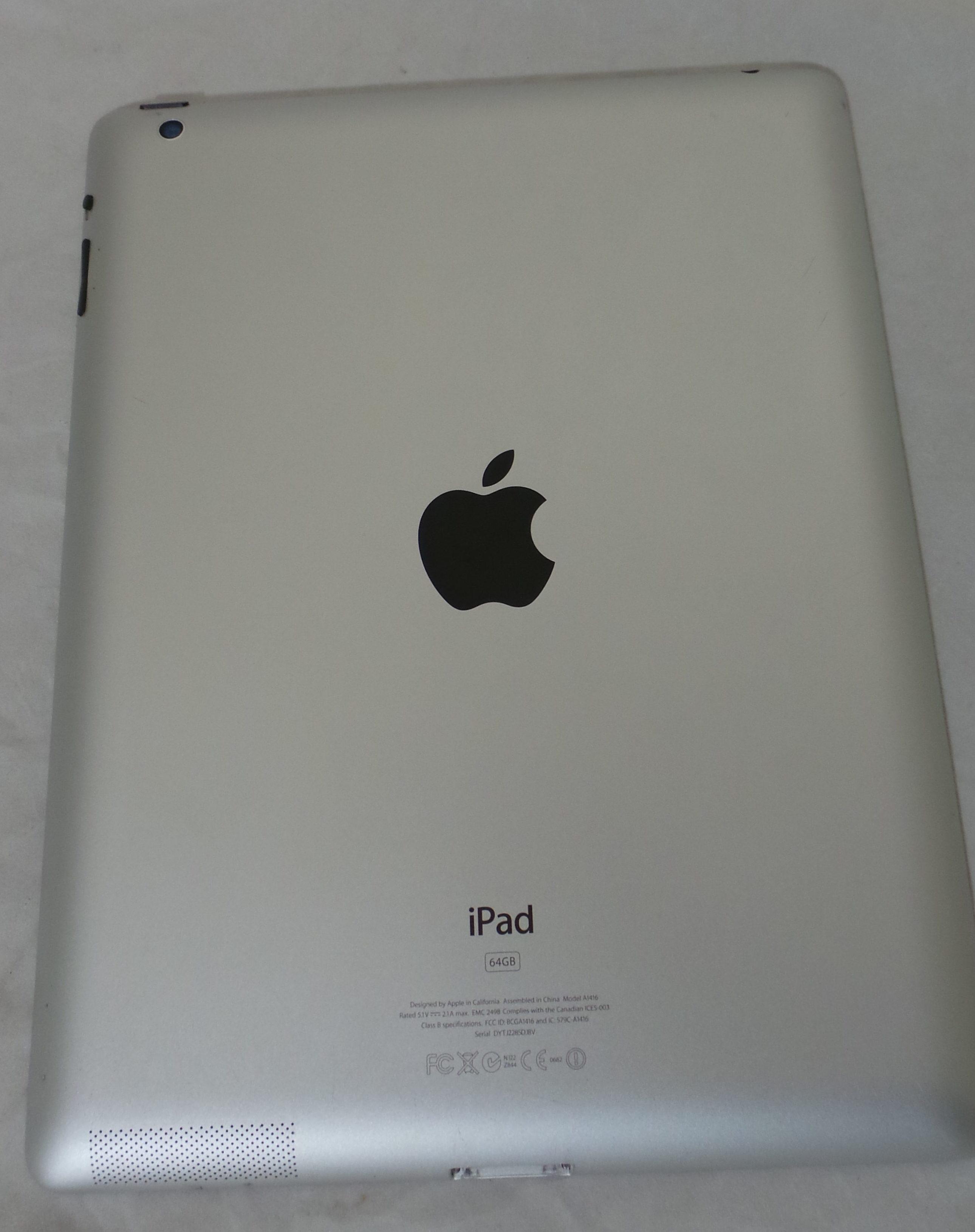 iPad 3 Wi-Fi 64GB, 64 GB, Black, Kuva 2