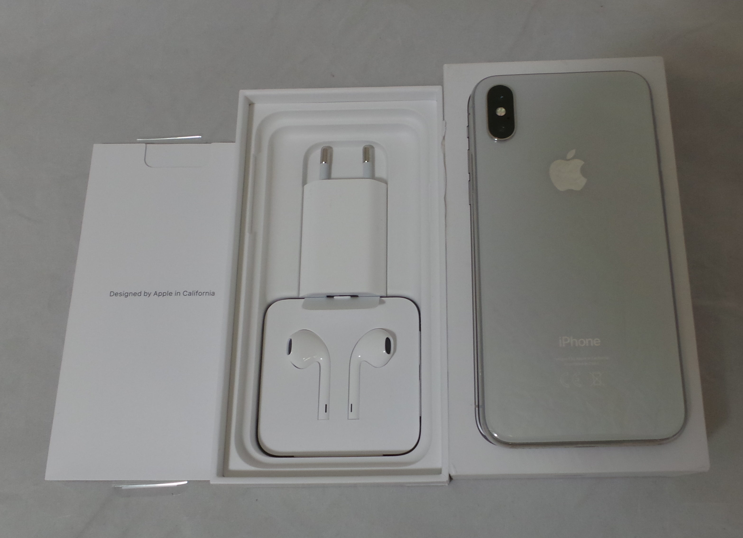 iPhone X 256GB, 256 GB, Silver, Afbeelding 2