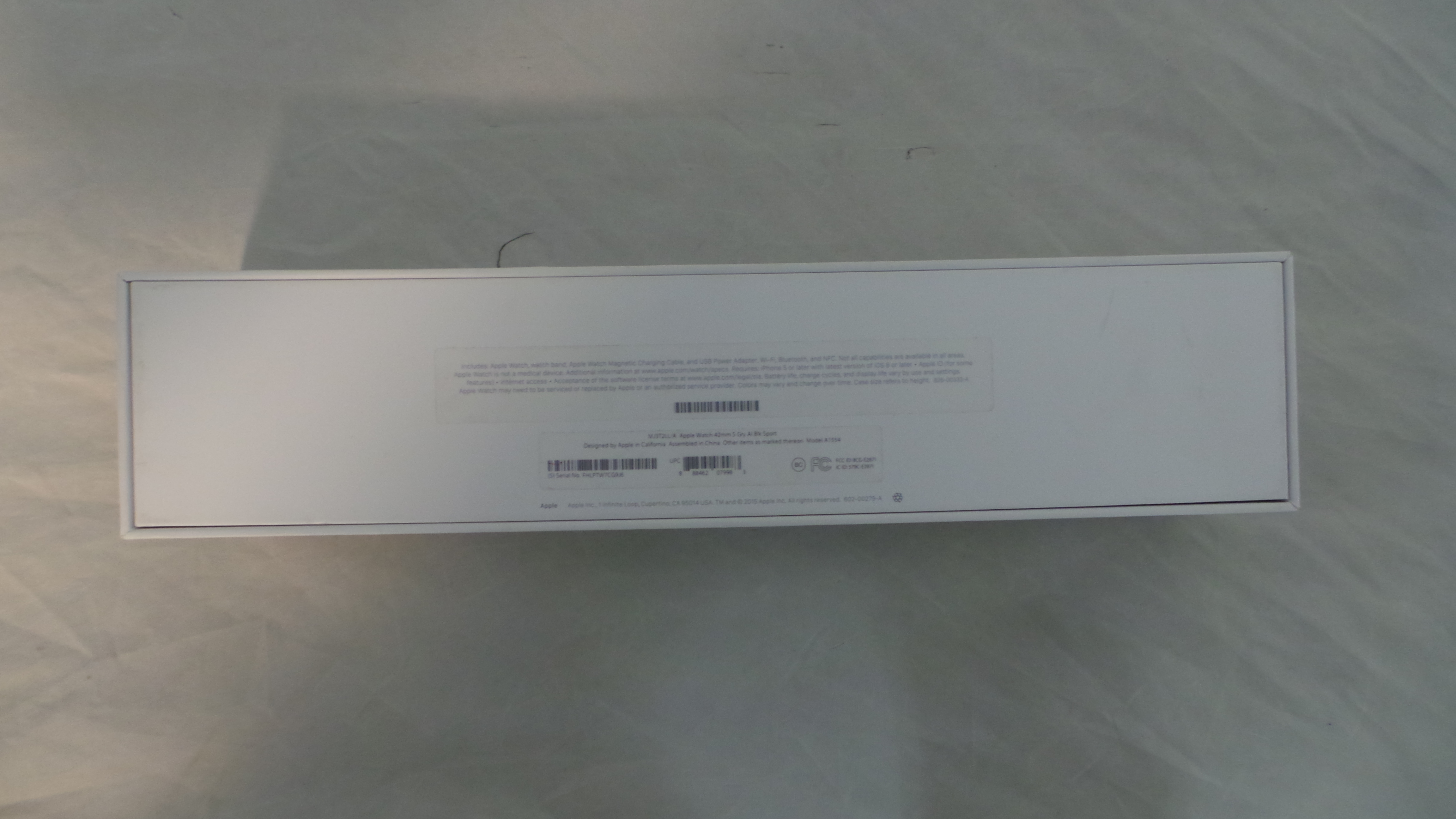 Watch Series 2 Aluminum (42mm), black, Afbeelding 3