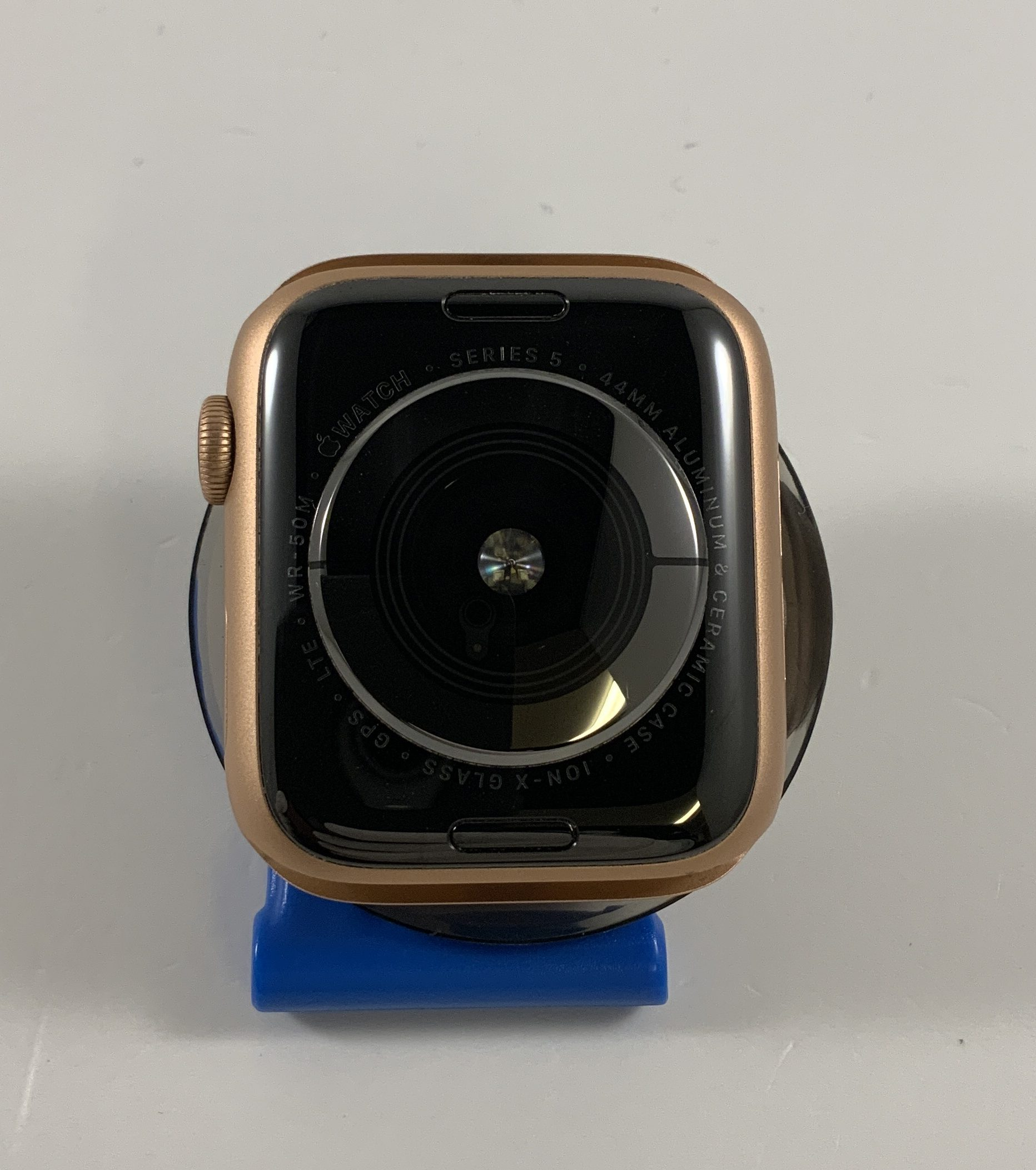 Watch Series 5 Aluminum Cellular (44mm), Gold, imagen 2